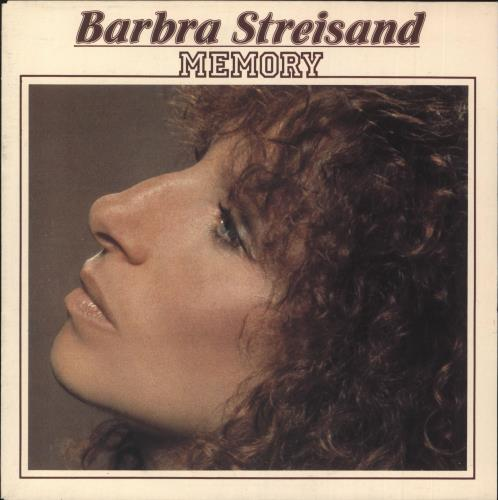 "Barbra Streisand Memory 7"" vinyl single (7 inch record) Dutch BAR07ME64643"