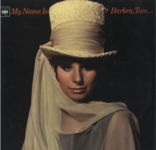 Barbra Streisand My Name Is Barbra, Two... - toc vinyl LP album (LP record) UK BARLPMY56671