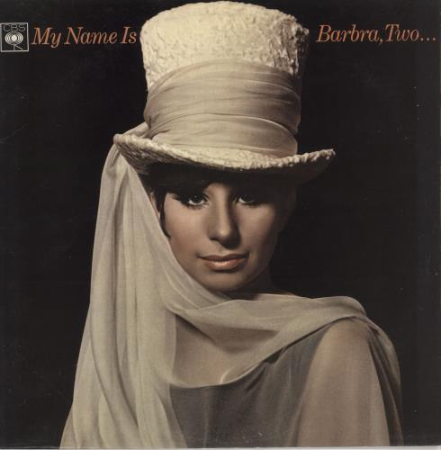 Barbra Streisand My Name Is Barbra, Two... vinyl LP album (LP record) UK BARLPMY685814