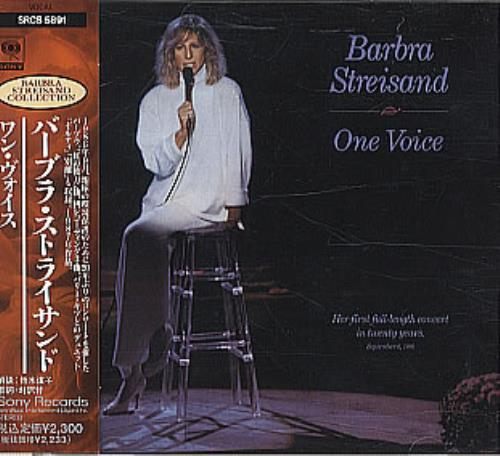 Barbra Streisand One Voice CD album (CDLP) Japanese BARCDON322328