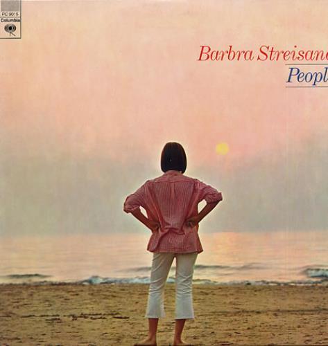 Barbra Streisand People vinyl LP album (LP record) US BARLPPE337113