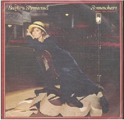 "Barbra Streisand Somewhere 7"" vinyl single (7 inch record) Spanish BAR07SO188012"