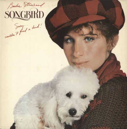Barbra Streisand Songbird vinyl LP album (LP record) UK BARLPSO457596