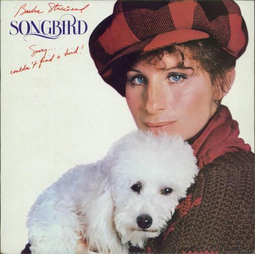 Barbra Streisand Songbird vinyl LP album (LP record) Japanese BARLPSO771665