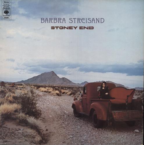 Barbra Streisand Stoney End - 1st - EX vinyl LP album (LP record) UK BARLPST749771