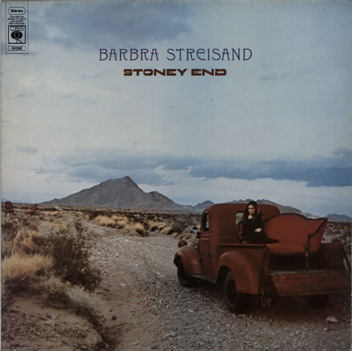 Barbra Streisand Stoney End - 1st vinyl LP album (LP record) UK BARLPST612491