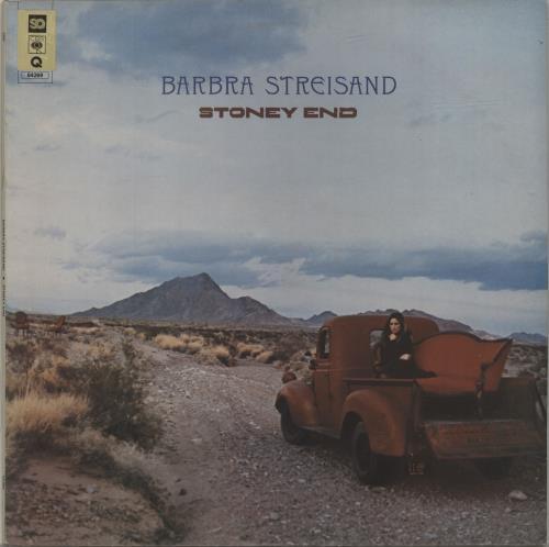 Barbra Streisand Stoney End - Quad - export vinyl LP album (LP record) US BARLPST686341