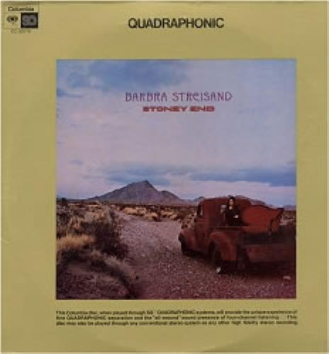 Barbra Streisand Stoney End - Quad vinyl LP album (LP record) US BARLPST104332