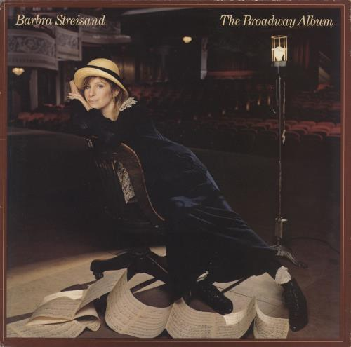 Barbra Streisand The Broadway Album vinyl LP album (LP record) UK BARLPTH711423