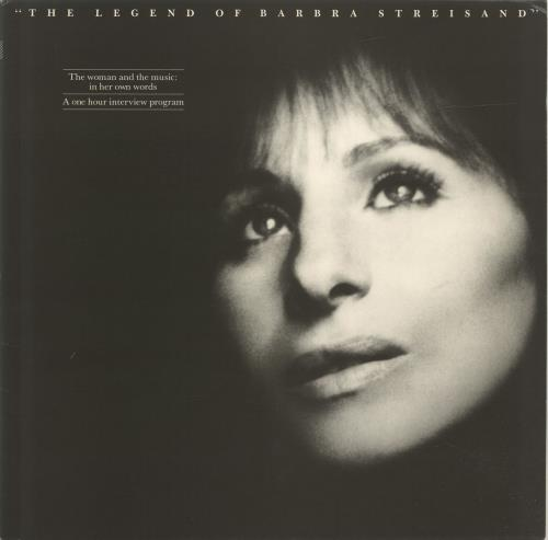 Barbra Streisand The Legend Of..Interview Sampler 2-LP vinyl record set (Double Album) US BAR2LTH47027