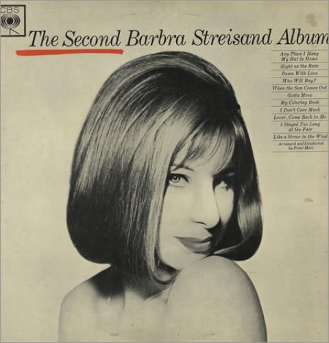 Barbra Streisand The Second Album Mono Original Uk