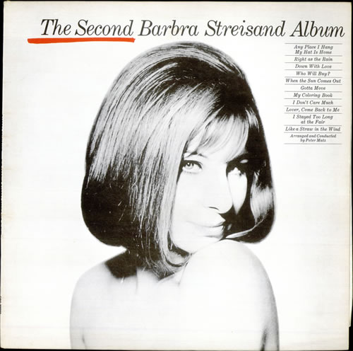 Barbra Streisand The Second Barbra Streisand Album vinyl LP album (LP record) UK BARLPTH509792