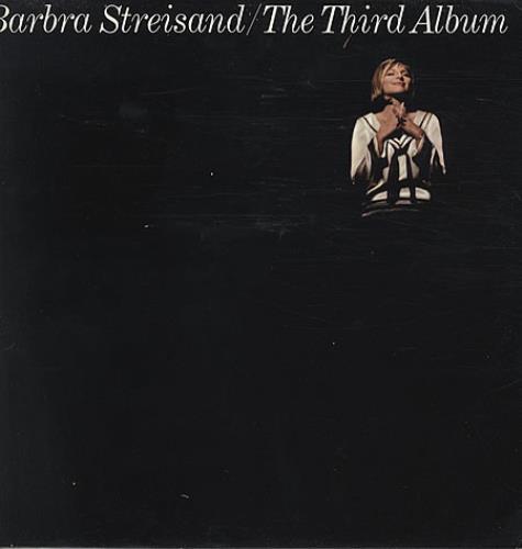 Barbra Streisand The Third Album vinyl LP album (LP record) UK BARLPTH337035