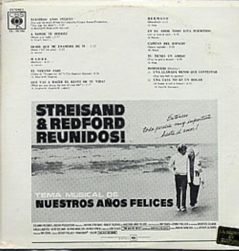 Barbra Streisand The Way We Were vinyl LP album (LP record) Venezuelan BARLPTH266844