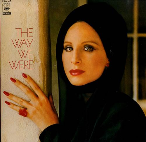 Barbra Streisand The Way We Were vinyl LP album (LP record) Japanese BARLPTH556321