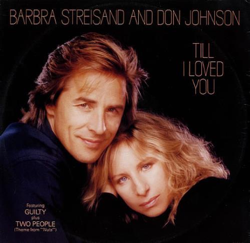 "Barbra Streisand Till I Loved You 12"" vinyl single (12 inch record / Maxi-single) UK BAR12TI19991"