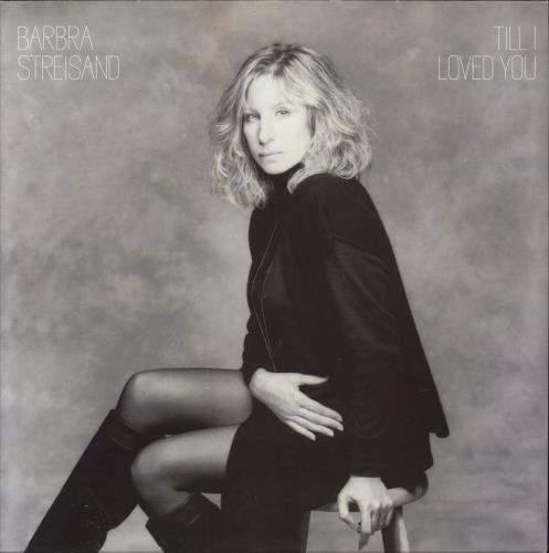 Barbra Streisand Till I Loved You vinyl LP album (LP record) UK BARLPTI340112