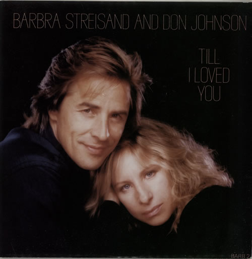 "Barbra Streisand Till I Loved You 7"" vinyl single (7 inch record) UK BAR07TI53702"