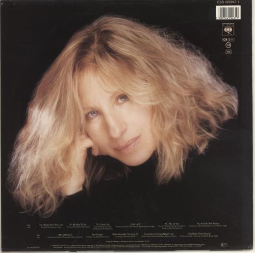 Barbra Streisand Till I Loved You vinyl LP album (LP record) Dutch BARLPTI690337