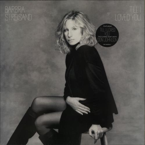 Barbra Streisand Till I Loved You vinyl LP album (LP record) UK BARLPTI750781