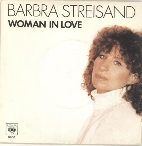 "Barbra Streisand Woman In Love 7"" vinyl single (7 inch record) Dutch BAR07WO30803"