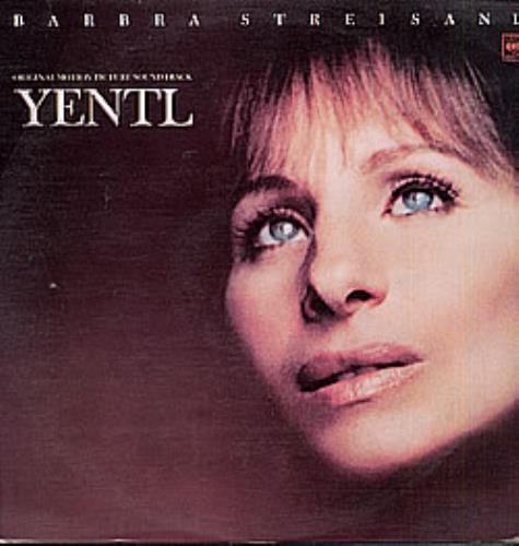 Barbra Streisand Yentl vinyl LP album (LP record) Colombian BARLPYE237199