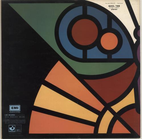 Barclay James Harvest Once Again - All Rights Reserved vinyl LP album (LP record) UK BJHLPON692587