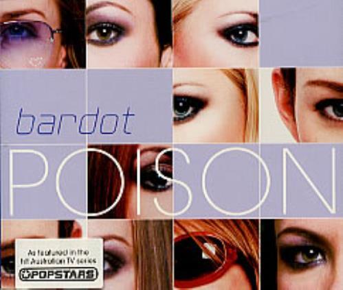 """Bardot Poison CD single (CD5 / 5"""") UK BDTC5PO181111"""