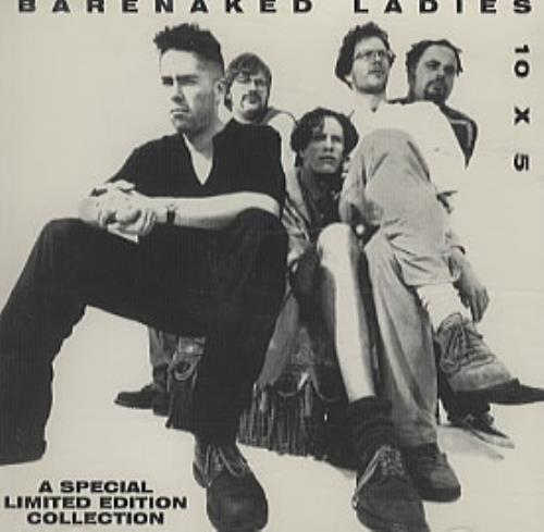 Barenaked Ladies 10 X 5 CD album (CDLP) Canadian BIECDX149383