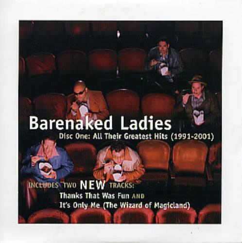 "Barenaked Ladies All Their Greatest Hits (1991-2001) Sampler CD single (CD5 / 5"") Canadian BIEC5AL297146"
