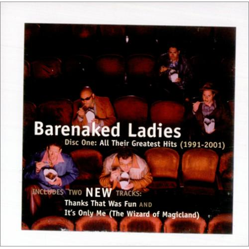 "Barenaked Ladies All Their Greatest Hits Sampler CD single (CD5 / 5"") Canadian BIEC5AL205578"