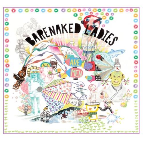 Barenaked Ladies Are Men CD album (CDLP) UK BIECDAR387874