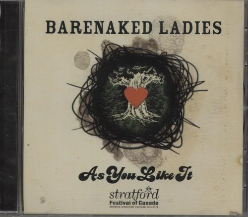 Barenaked Ladies As You Like It CD album (CDLP) Canadian BIECDAS387778