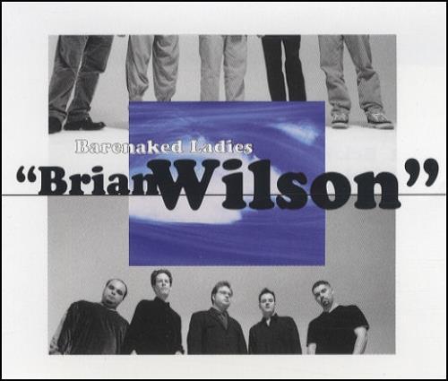 """Barenaked Ladies Brian Wilson CD single (CD5 / 5"""") German BIEC5BR181970"""
