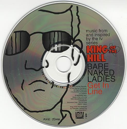 """Barenaked Ladies Get In Line CD single (CD5 / 5"""") US BIEC5GE387635"""
