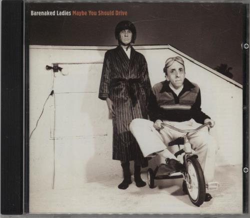 Barenaked Ladies Maybe You Should Drive CD album (CDLP) German BIECDMA753366