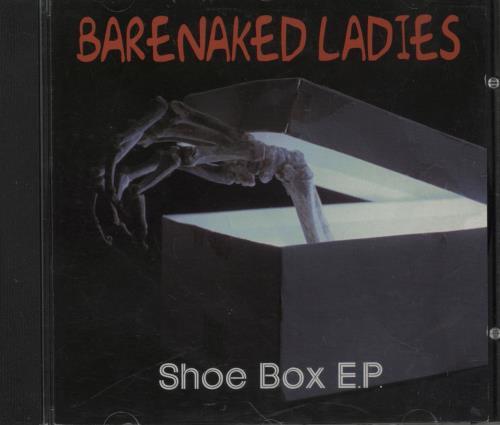 "Barenaked Ladies Shoe Box EP CD single (CD5 / 5"") Canadian BIEC5SH753368"