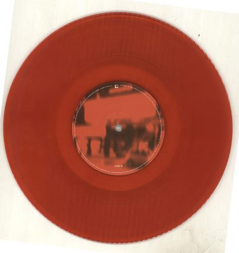 "Bark Psychosis A Street Scene - Red Vinyl 10"" vinyl single (10"" record) UK BCJ10AS713165"