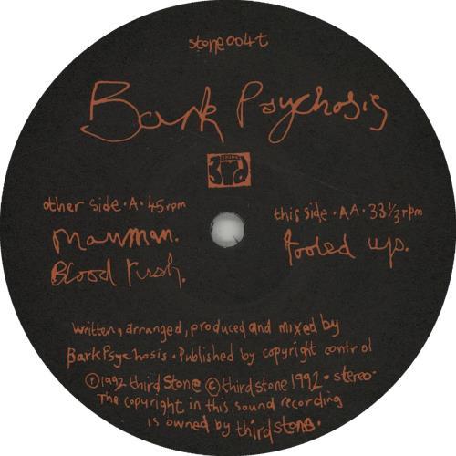"Bark Psychosis Manman 12"" vinyl single (12 inch record / Maxi-single) UK BCJ12MA319858"