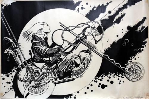 Barney Bubbles Prince Minsky's Chopper poster UK E4UPOPR588948