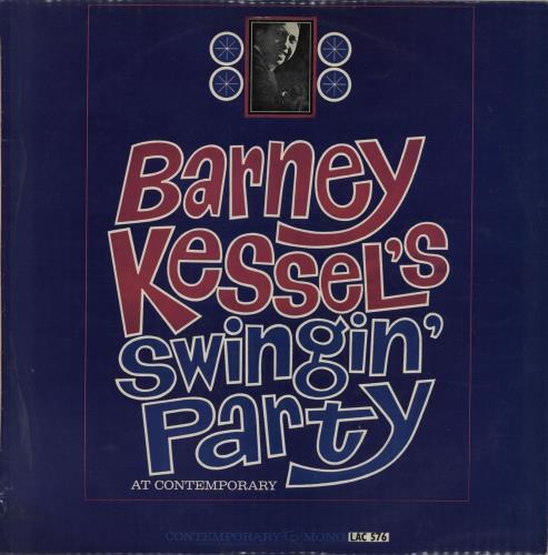 Barney Kessel Barney Kessel\'s Swingin\' Party At Contemporary UK ...