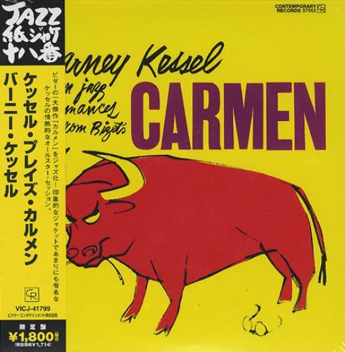 Barney Kessel Carmen Japanese CD album (CDLP) (372637)