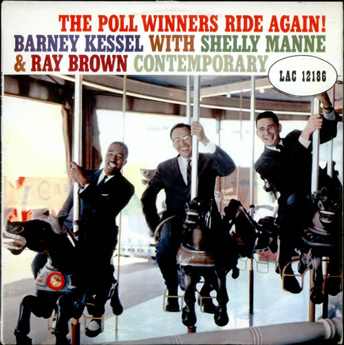 Barney Kessel The Poll Winners Ride Again! vinyl LP album (LP record) UK BC0LPTH528403