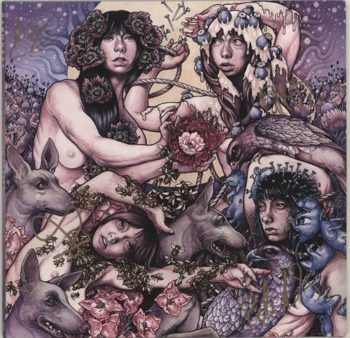 Baroness Purple - Autographed vinyl LP album (LP record) US QJSLPPU696555