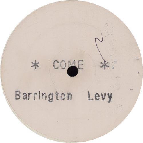 "Barrington Levy Come 12"" vinyl single (12 inch record / Maxi-single) UK B0Q12CO751201"