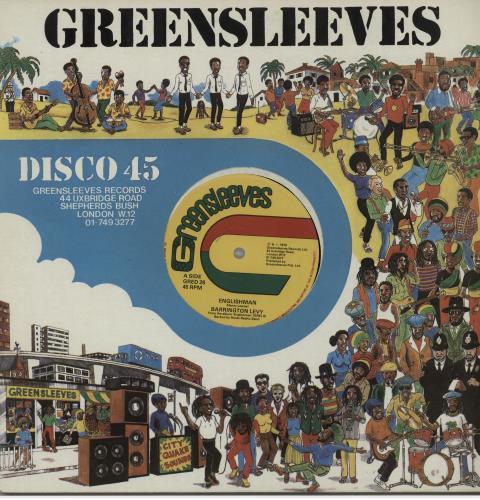 "Barrington Levy Englishman 12"" vinyl single (12 inch record / Maxi-single) UK B0Q12EN647065"