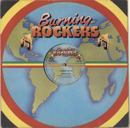 "Barrington Levy Shine Eye Gal 12"" vinyl single (12 inch record / Maxi-single) UK B0Q12SH715943"