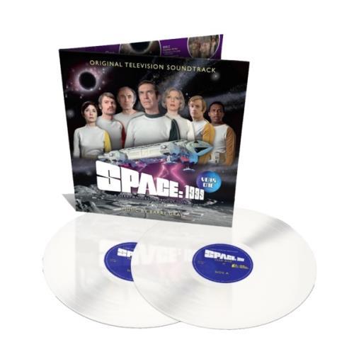 Barry Gray Space: 1999 Year One - Lunar White Vinyl 2-LP vinyl record set (Double Album) UK BZY2LSP774797