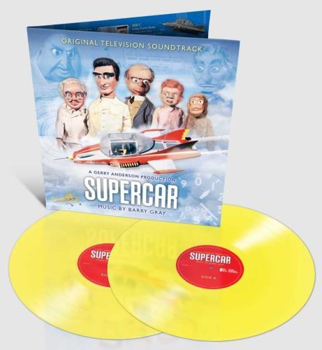 Barry Gray Supercar - Sherbet Lemon Vinyl 2-LP vinyl record set (Double Album) UK BZY2LSU742758
