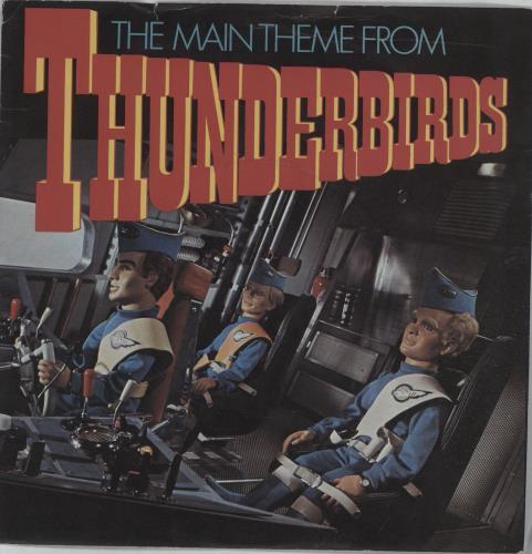 Barry Gray Thunderbirds Sleeve Uk 7 Quot Vinyl Single 7